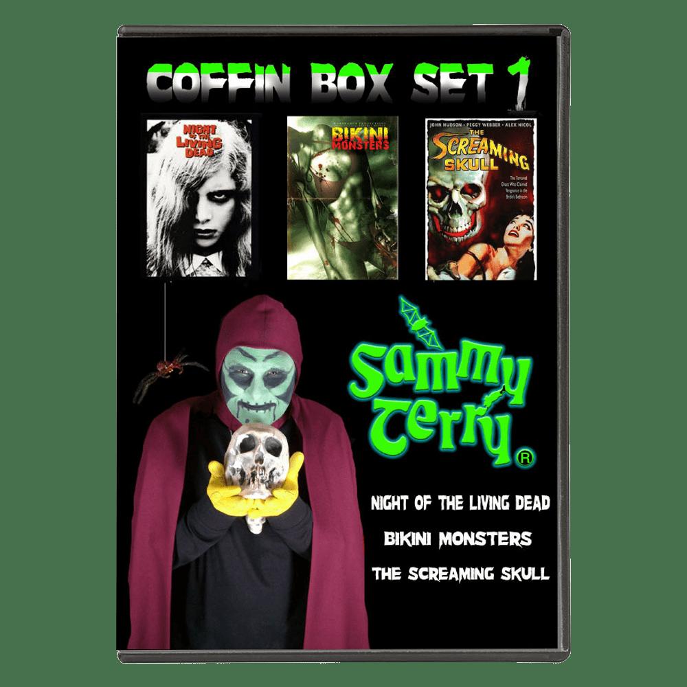 dvd coffin box set 1 - sammy terry