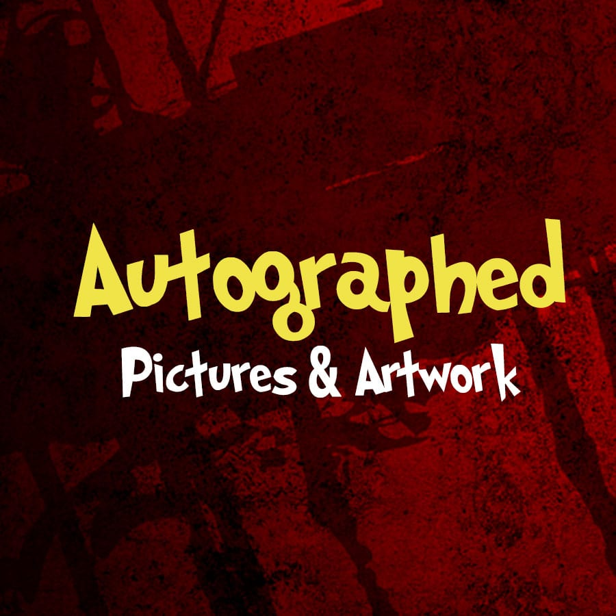 Autographed Pictures and Artwork